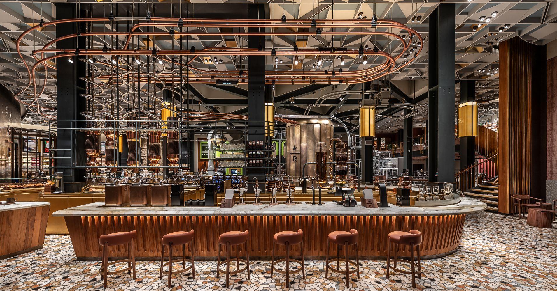 Esternidesign.it - Interior Starbucks Reserve Roastery